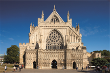 Exeter Cathedral  front Image